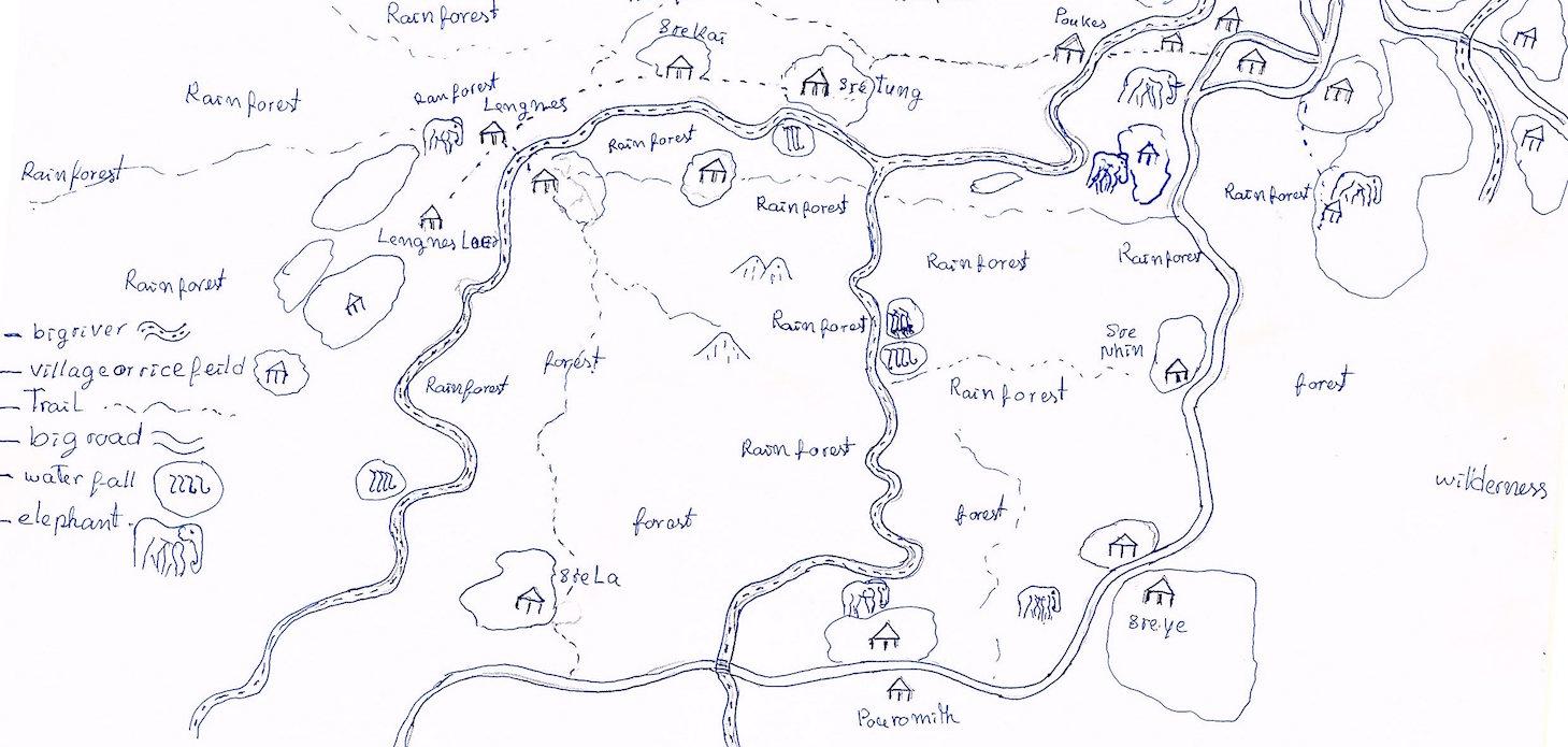 Map of Rainforest Cambodia_Mony Hong